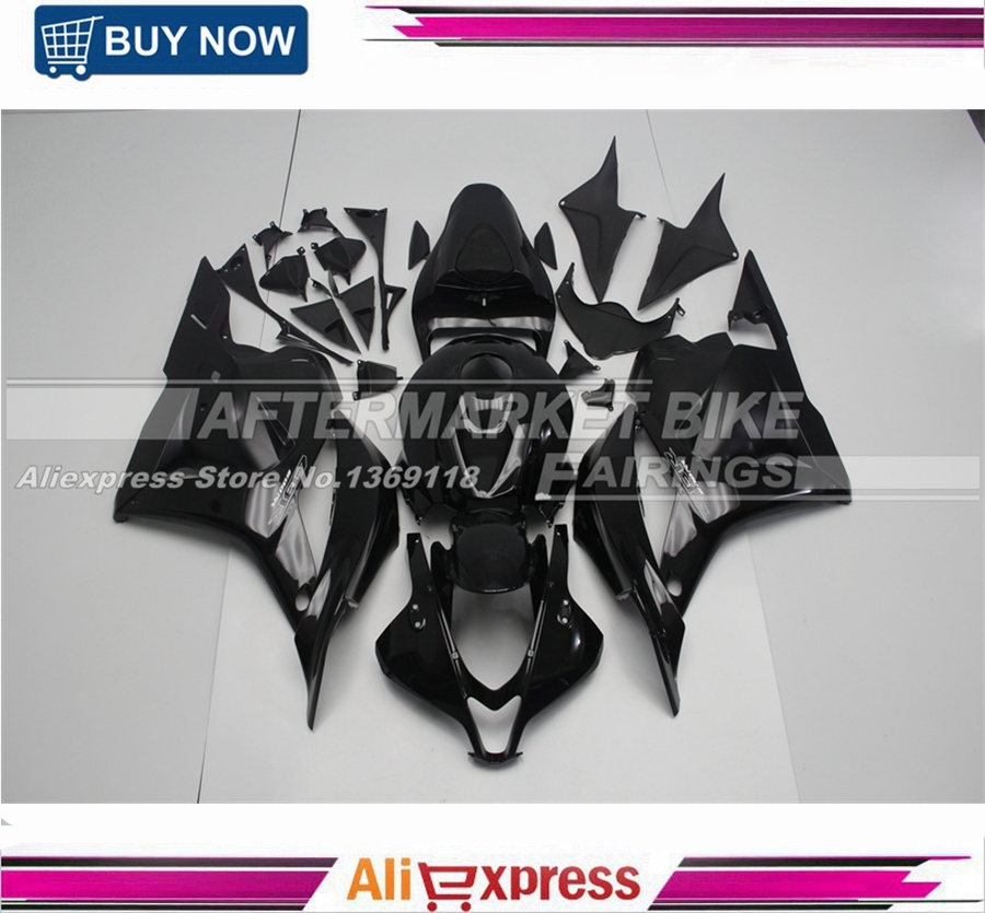 For Honda CBR 600RR 2009 2010 2011 2012 CBR600RR Injection ABS Plastic motorcycle Fairing Kit F5 All Gloss Black for honda cbr600rr 2007 2008 2009 2010 2011 2012 motorbike seat cover cbr 600 rr motorcycle red fairing rear sear cowl cover