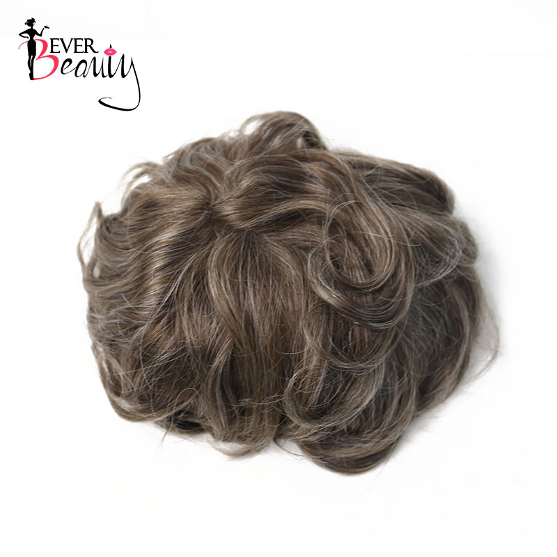 Durable Skin 100% Human Hair Toupee For Men Natural Looking European Human Hair Toupee Replacement Lace & PU EverBeauty