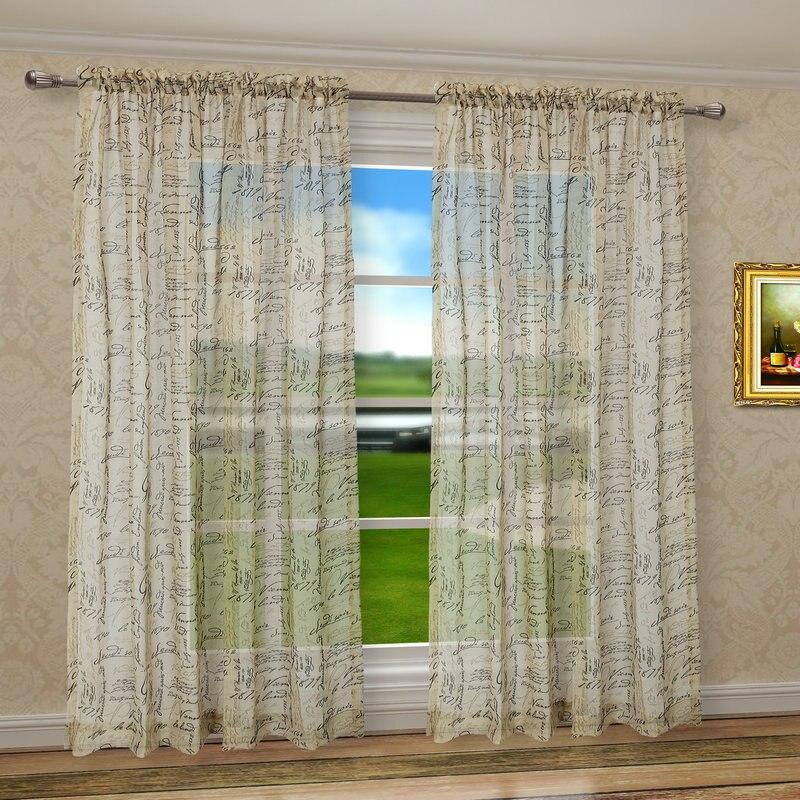 CaliTime Fenster Vorhänge Panels 50 \