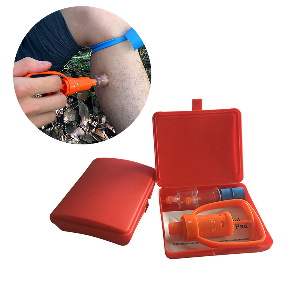 Snake Bite Kit  Sting Suction Pump   First Aid Safety Tool   Venom Extractor Suction Pump  Bite and Sting First Aid|Repellents| |  - title=