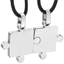 Couples Stainless Steel Necklaces Pendants (4 Colors)