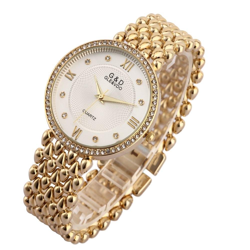 G&D կանանց ձեռքի ժամացույցներ Quartz Watch - Կանացի ժամացույցներ - Լուսանկար 4