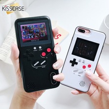 KISSCASE Luxury Game Phone Cases For iPhone 7 8 Plus Retro Color Screen Gameboy FC NES Came Case For Iphone X XS Max 6s 6 Cover