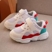 Hot Kids Autumn Spring Children Mesh Sneaker Baby Boys Casual Shoes Fashion Sport Running Shoes Girls Breathable Sneakers