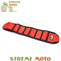 Red Gripper Soft Seat Cover For Honda CRF250R 04 09 CRF450R 03 08 CRF250X CRF450X Motorcycle