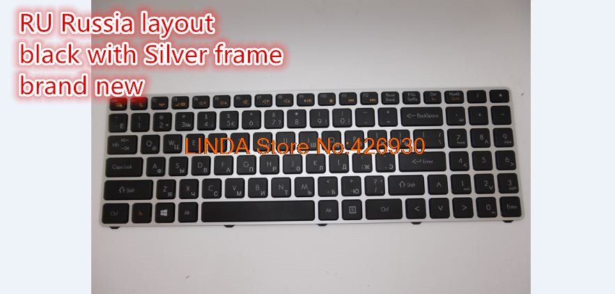 Laptop Keyboard For MP-12K76TQ-920 AETWDA00010 MP-12K76GB-920 AETWDE00010 MP-12K73US-920 AETWDU00010 Russia/Turkey/UK/US layout new keyboard us version for hp pavilion touchsmart sleekbook 703915 001 2b 06401q110 mp 12g63us 920 aeu36u00010 without frame