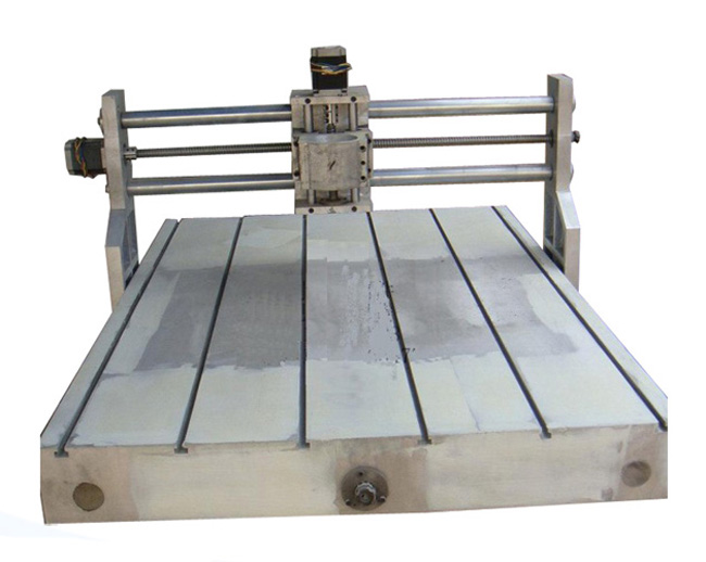 CNC 6090 Casting Frame kit with lathe bed ball screw bearing stepper motor and coupler cnc frame kit cnc 3020z diy frame with ball screw optical axis and bearings for cnc milling machine