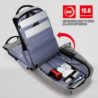 Mochilas impermeables mochila antirrobo inteligente USB estudiante 15,6 pulgadas portátil mochilas escolares mochila de viaje mochila con compartimentos