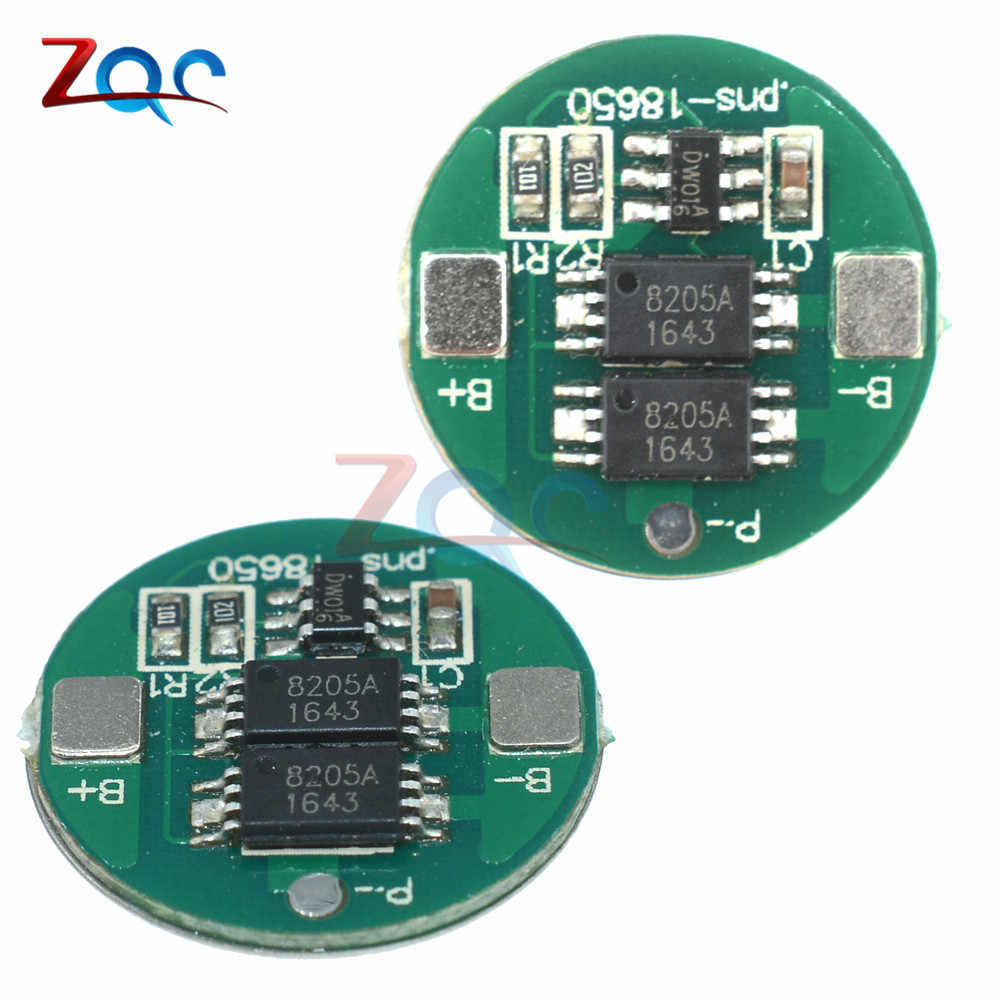 1 X  2PCS DUAL MOS BATTERY PROTECTION BOARD FOR 18650 LITHIUM BATTERY.