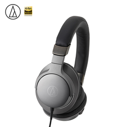 Original ATH-AR5iS Wired Headphone Hifi Foldable Remote Control With Mic Hifi Earphone For Android IOS For Iphone Xiaomi Huawei