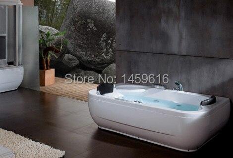 Badezimmerarmaturen 1800x1100mm Whirlpool Badewanne Und Acryl Mit Abs Verbund Doppel Menschen Massage Bad W4010 Schmerzen Haben