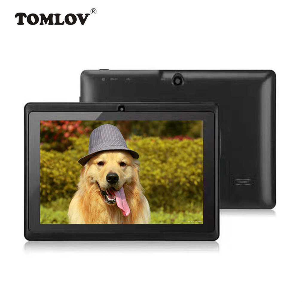 TOMLOV Children Learning Machine 7inch TFT LCD Display Dual Core Children'S Tablet PC Computer 8G For Android