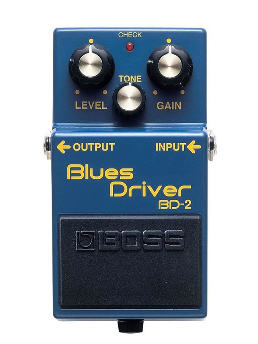 Boss Audio BD-2 Blues Driver Distortion and Overdrive Effects Guitar Pedal with Tube Amplifier Simulation social distortion social distortion somewhere between heaven and hell lp