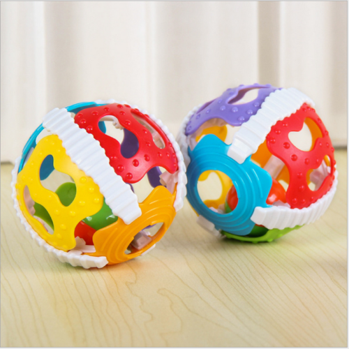 Colorful Baby Toys Baby Infant Rattle BallHand Bell Grip Ball Funny Newborn Baby Infant Toys Musical Educational Toy Baby Mobile