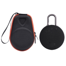 Hot Sale Portable EVA Zipper Hard Case Storage Bag Box For Clip 2 3 Bluetooth Speaker