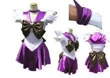 Сейлор Мун Косплей Сейлор Сатурн 2 Томоэ Хотару Молчание Меч Костюм женская Dress Sailor Костюмы