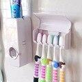 Acessórios do banheiro Superior distribuidor Automático Dentífrico e Escova Titular Toque dentifrício bomba De Distribuição caixa Origina BS