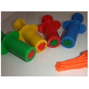 Image 5 - カラープレイ生地モデルツールおもちゃクリエイティブ3D粘土ツールplaydoughセット粘土金型デラックスセット学習教育おもちゃ