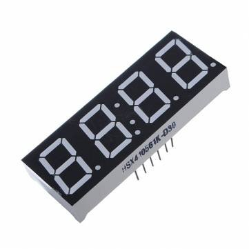 0.56″ 7 Segment 4 Digit common anode red LED digital display for Arduino