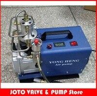 220 В высокое Давление 30mpa Электрический мини насос воздушный компрессор 1.8kw воздуха автомобиля автоматов