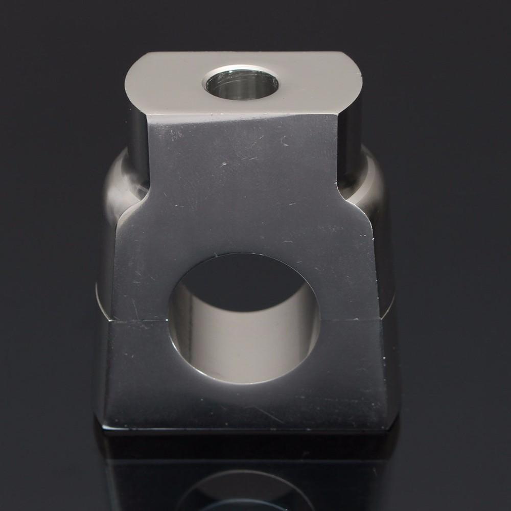 22mm CNC Motorcycle Handle Bar Mount Risers Clamp Aluminium For ATV 8