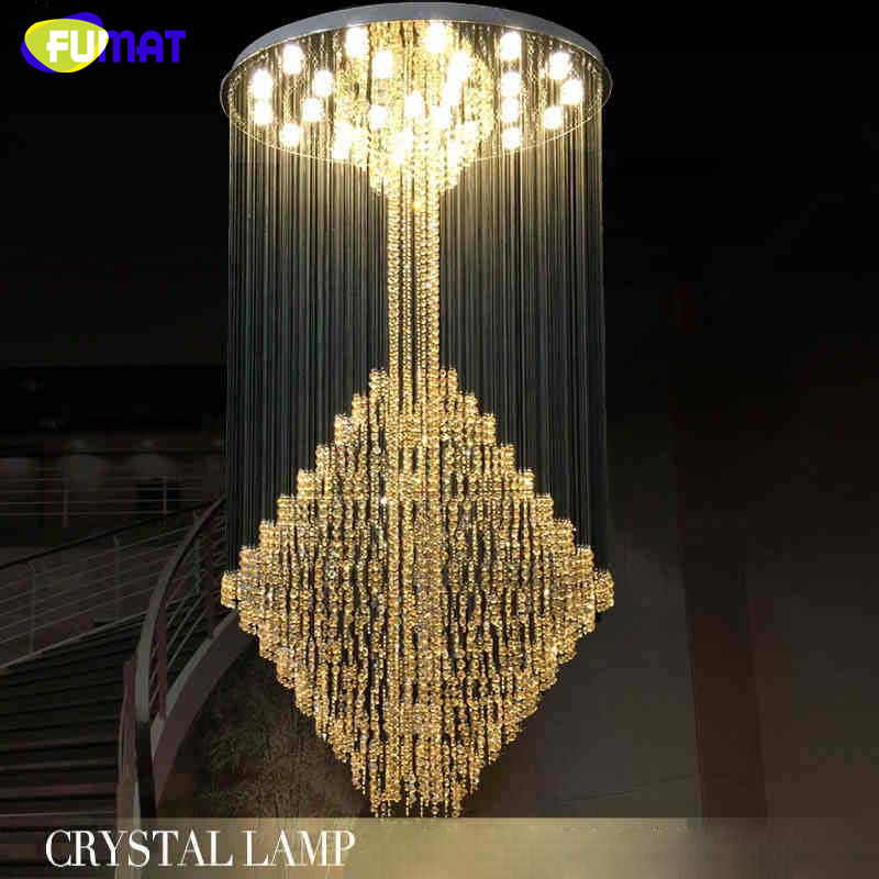 2016 LED Modern K9 Crystal Chandeliers Crystal Lamp 100% Guarantee Lustres de cristal criostail lamparas Villa Mall chandelier