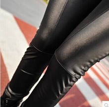 Bohocotol S-XL 2019 Women's Leather Leggings Sexy imitation Leather Slim PU Points Pants Women's Leggings Drop shipping
