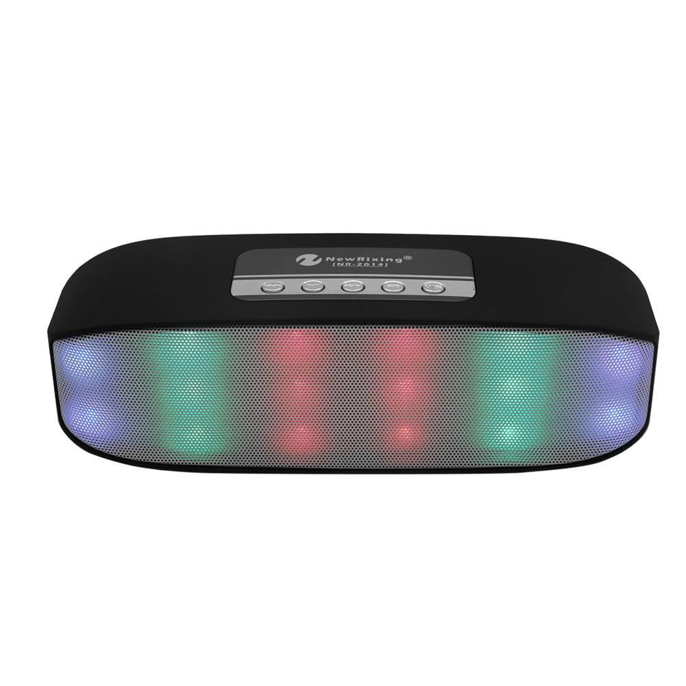 Portable Bluetooth Speaker waterproof colorful LED Bluetooth Speaker Wireless Super Bass Mini Speaker with Flashing Lights