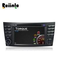 Beiinle Car 2 Din Android QUAD CORE 1024*600 DVD GPS Đài Phát Thanh Stereo Navigator cho Benz E Class W211 CLS W219 CLK W209 G W463