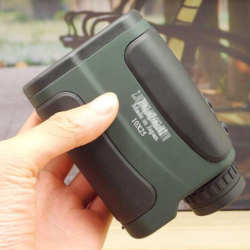 Handheld 10X25 700m Golf Laser Rangefinder Range Finder Outdoor Hunting Telescope Monocular Distance Meter Tester hunting tactical golf distance meter laser range finder speed tester monocular 6x21 600m laser rangefinder