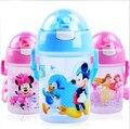 350/500 ml Eco Garoto PP Bickiepegs Copos de bebê bebê dos desenhos animados de Água Potável Garrafa De Palha