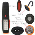Super Bright 17 LEDs Cordless Work Light Flashlight Torch AC Charger with Magnet Hook Hanging