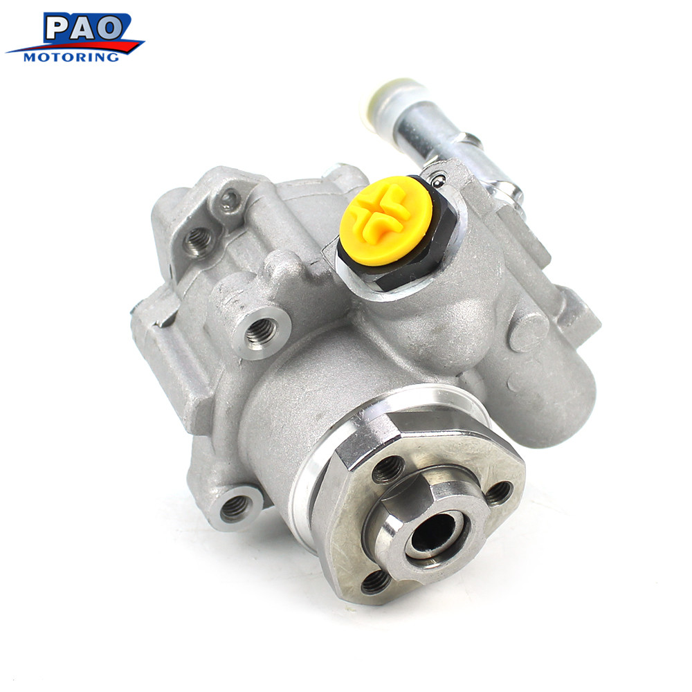 New Power Steering Pump Fit For 1984-1993 VW Golf IV Jetta IV R32 MKIV VR6 12v 3.2 VR6 24v Passat Rabbit Cabriolet OEM 027145157 2pcs auto for auxiliary cooling water pump fit vw jetta golf gti vw passat cc octavia 1 8 t 2 0 t 12 v engine1k0 965 561 j