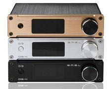 SMSL Q5 Digital Pro Hi-fi de Alta Calidad 2.0*50 W Pure de Entrada de Audio Para El Hogar Óptico/Coaxial/USB/Potencia con Control Remoto