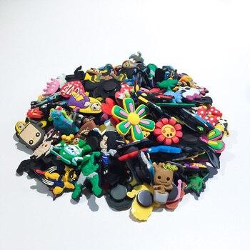Envío Gratis DHL 1000 Uds al azar/no recoger PVC calzado de dibujos animados encanto niños juguete para regalo fiesta Favor