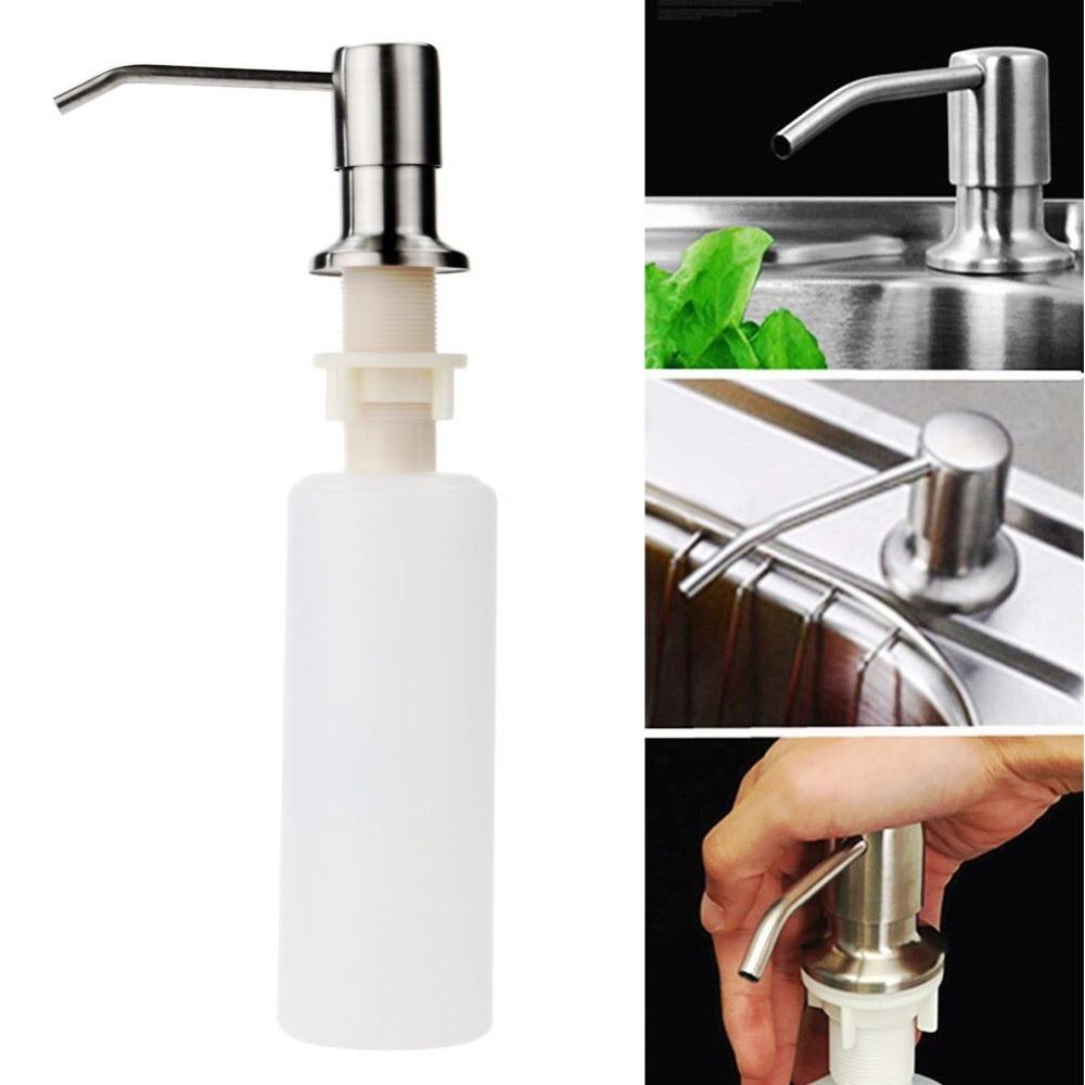Attirant 300ml Plastic Kitchen Soap Sink Lotion Pump Detergent Dispenser Hand  Sanitizer Sink Soap Dispenser Bottle Kitchen Soap Dispenser In Liquid Soap  Dispensers ...