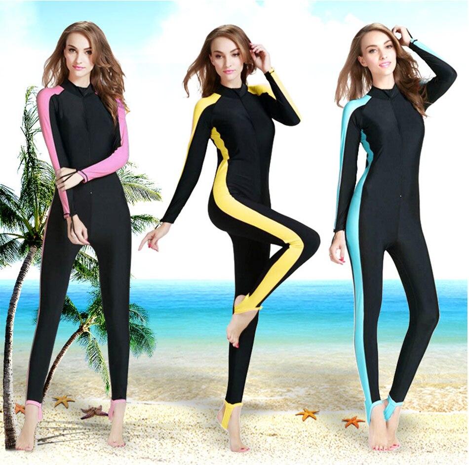 ФОТО Free Shipping Full body Swimwear Women Jellyfish Clothing One-piece Scuba Diving Surfing Snorkeling Fishing Wetsuit Rash Guard