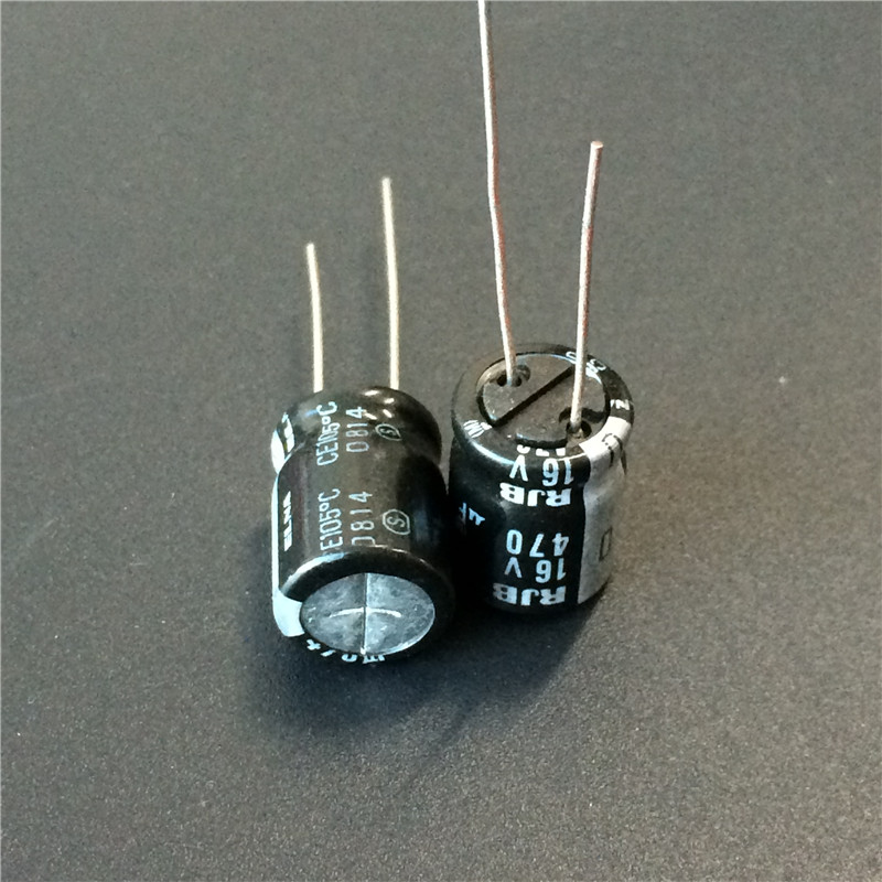 10pcs 470uF 16V Japan ELNA RJB 10x12.5mm 16V470uF Low Impedance Audio Capacitor
