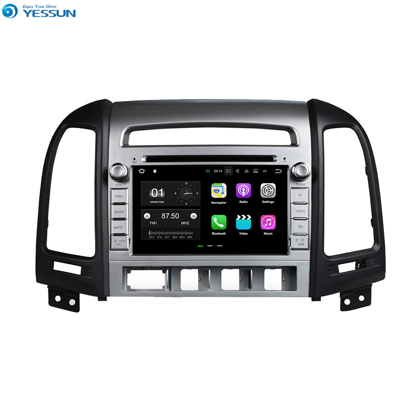 YESSUN Android Car Navigation GPS For Hyundai Santa Fe 2007~2012 Audio Video Radio Stereo Multimedia HD Screen Player. yessun android car navigation gps for hyundai santa fe 2006 2012 audio video hd touch screen stereo multimedia player no cd dvd
