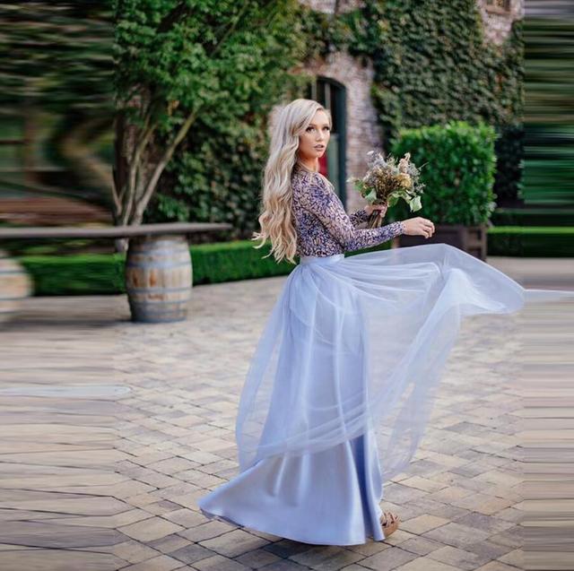 0d8f22ae95 Beautiful Pretty Women Skirts Top Quality Full Skirt Zipper Ribbon  Waistline A Line Floor Length Long Maxi Skirt Tulle Skirt