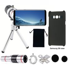 Promo offer 18X Optical Telescope Objective Camera Telephoto Lens Holder Tripod+Case+Aluminum Tripod For Samsung Galaxy S 5 6 8 Edge S7 PLUS