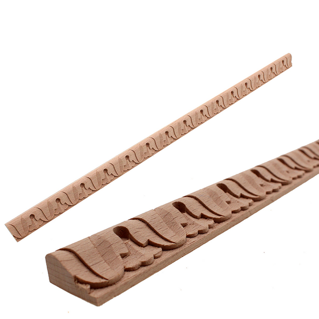 RUNBAZEF Practical Boutique Exquisite Classic Rubber Wood Carved ...