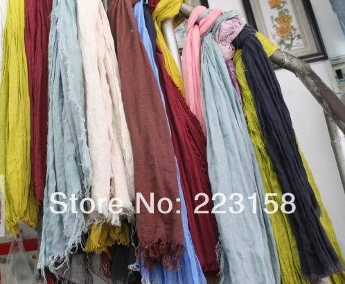 Kostenloser Versand, perfektes Netz aus dünnem Netz 100% Leinen für ideal für Schal / Sonnenschutzhemd / DIY-Heimstoff / Chromophous