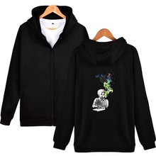 ZOGAA Albert Einstein Autumn and Winter New Printed Suit Zipper Hat Guard 3d hoodies streetwear Funny space graphic hoodie