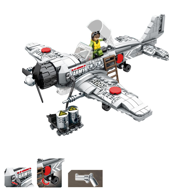war front line ww2 Assembled Zero fighter Attacking Pearl Harbor compatible legoinglys Military Building Blocks figures toys gif pearl harbor in films