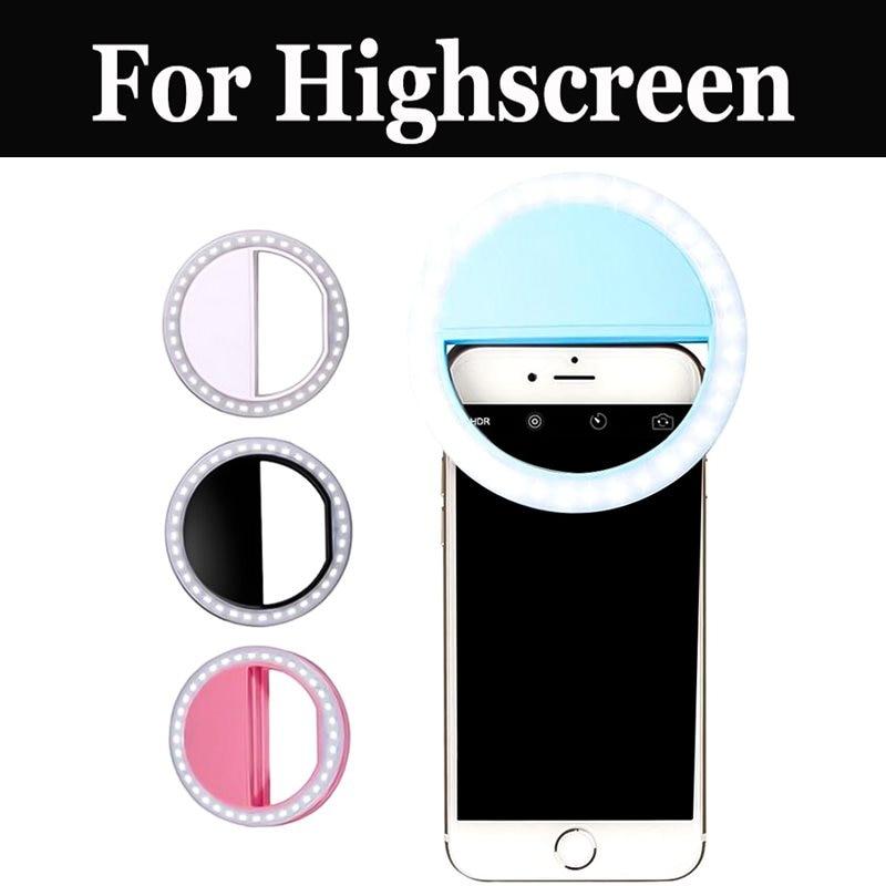 Купить Хит продаж смартфон селфи кольцо вспышка для Highscreen Boost 3 Se Easy F Pro L S Pro Xl Fest Pro Xl power Five Evo Max 2 на Алиэкспресс
