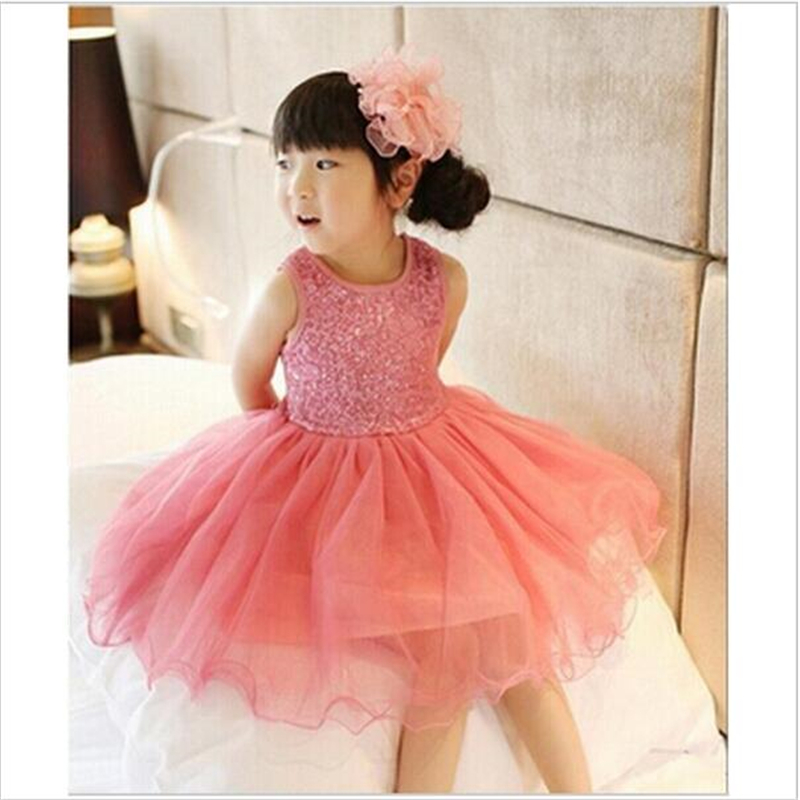 ФОТО new 2016 kids sequins girl dress lace tutu dresses for toddler girls events birthday party children dresses baby dress girls