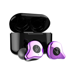 Bluetooth 5.0 E12 Earphones True Wireless Stereo Earphone Fashion 4D Sound Earbud with Wireless Charging box For Smart Phone