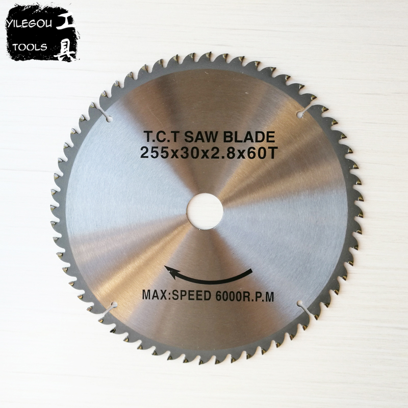 2 Pieces 10 254mm TCT Circular Saw Blades For Wood 255*2.8*30mm*60 Teeth Table Saw Blades For Woodworking Bore 30.0mm 3pcs 85mm circular saw blades 44 teeth hss saw blades 24 teeth tct wood saw blades daimond blades for 85 15mm mini circular saw