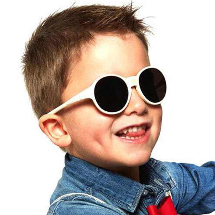 ใหม่ retro รอบแว่นตากันแดดเด็กแว่นตากันแดดสำหรับชายและหญิงแฟชั่นเจ้าชายกระจก UV400 แว่นตาเด็ก